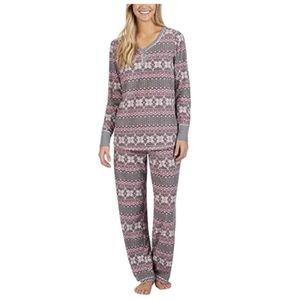 NAUTICA Fair Isle  Fleece pajama set